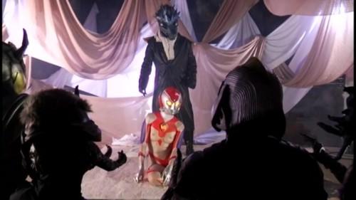 性奴隷にされたウルトラマン